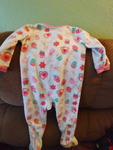 Carters Toddler Blanket Sleeper Cupcakes & Candy Footed Pajamas Size 18M  - $6.00
