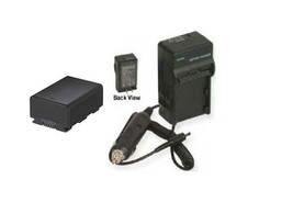 Battery + Charger For Samsung SMX-F40 SMX-F40BN/XAA - $40.49