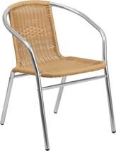 Rattan Aluminum Chair (Beige/Black/Brown) - $50.00