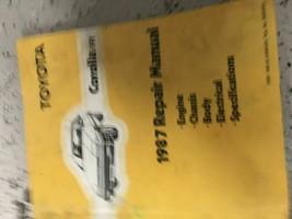 1987 TOYOTA COROLLA FR Service Repair Workshop Shop Manual OEM - $69.25