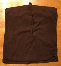 Xhilaration Girl's Brown Halter Top Shirt / Blouse Size: Large 10/12 - $9.50