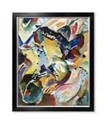 DECORARTS - Panel for Edwin R. Campbell No. 2, Wassily Kandinsky Abstrac... - $139.80
