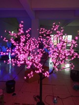 1.8 M 6 FT 864 Pcs LED Cherry Blossom Tree Outdoor Wedding Garden Holiday Light  - $399.00