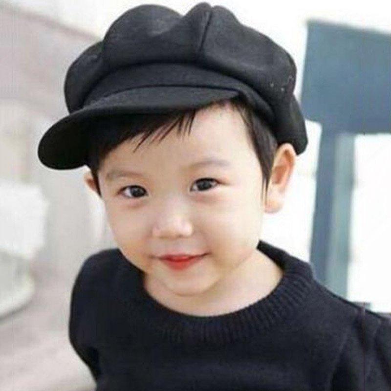 Toddler Baby Kid Infant Boy Girl Beret Cap Dome Octagonal Hat Baseball Casquette