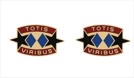 Genuine U.S. Army Crest: 3RD Support Brigade (Totis Viribus) - $18.79