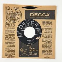 Vinyl Music Record Earl Grant -Evening Rain Decca Records 45rpm 9-30819 USA - £14.52 GBP