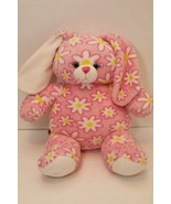 Build A Bear Workshop Pink Bunny Rabbit White Daisy 2011 - Retired  BABW... - $11.83