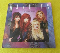 "Bangles 45 RPM Vinyl Record 7"" In Your Room & Bell Jar - $4.95"