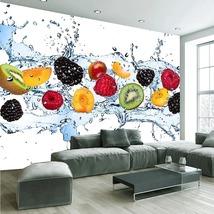 """3D Wallpaper """"Fresh Fruits"""" - $35.00+"""