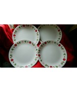 CORELLE SPRING PINK LUNCH PLATES 8.5 INCH X 4 BRAND NEW FREE USA SHIPPING - $42.06