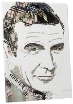 "Pingo World 0713QXCH7RA ""Ines Kouidis Sean Connery"" Gallery Wrapped Canvas Wall  - $43.51"