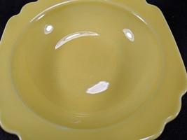 Vintage Homer Laughlin Riviera Yellow Berry Bowls, 5pc. image 4
