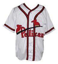 Custom name   new orleans pelicans baseball jersey white   1 thumb200