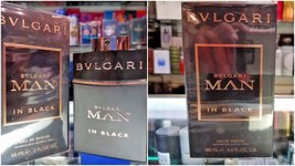 Bvlgari MAN IN BLACK EDP Eau de Parfum 2 oz 60 ml / 3.4 oz 100 ml for Men SEALED - $67.75+