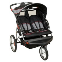 NEW! Babies Twins Double Jogger Stroller Side by Side Lightweight   - $226.60