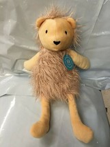 Manhattan Toy Company The Fur Shop Lion Plush Doll NEW with tags - $12.50