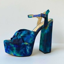 Jessica Simpson 'Alesta' Tie Dye Platform Fabric Sandal size 6.5M - $69.85