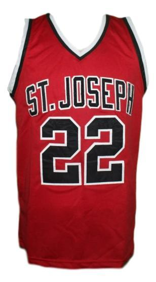 William gates hoop dreams movie basketball jersey red   1
