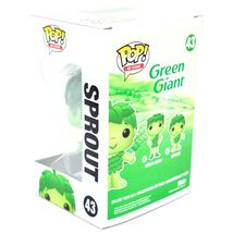 Funko Pop! Ad Icons Green Giant Sprout #43 Vinyl Action Figure image 3