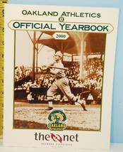 2000 Oakland Athletics A's Official Yearbook The Net 1901-2000 NM - $8.90