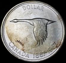 1967 Canada Silver Goose Dollar ***Great Condition*** 80% Silver Coin - $15.93
