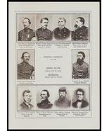Rhode Island Generals Tennessee Generals Identified Union Army Civil War... - $18.99