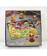 Game Night Tipsy Land Glass Board w/4 shot glasses Never been used - $29.99