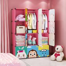 MAGINELS Ldren Wardrobe Kid Dresser Cute Baby Portable Closet Bedroom Ar... - $9,999.00