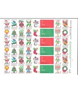 1984 Christmas Seals American Lung Assoc Sheet of 42 MNH Cinderella Stamps - ₹365.81 INR