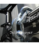 """4 Pewag Chain 4 ft Square Link 1/2"""" 12 mm Bicycle Security Chain & Sleeve - $650.98"""