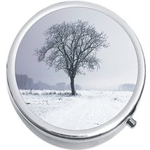 Snow Tree Medicine Vitamin Compact Pill Box - $9.78