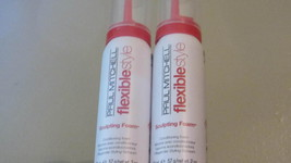 Paul Mitchell Sculpting Foam Travel Size 2 Cans x 2 oz. each = 4 ounces/... - $11.89