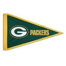 Green Bay Packers Giant 3X5 Embroidered Pennant - Free Shipping - $24.95