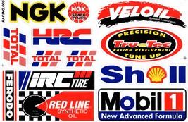 D337 Sponsor Sticker Decal Racing Tuning Size 27x18 cm / 10x7 inch - $3.49