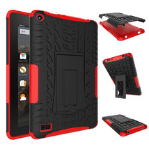 """Duty Rugged Hybrid Protective With KickStand Case For Amazon Fire 7"""" 201... - $18.98"""