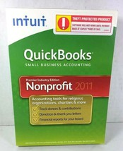 Quickbooks Premier Industry Edition Nonprofit 2011 Windows 7, Vista, XP image 1