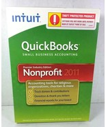 Quickbooks Premier Industry Edition Nonprofit 2011 Windows 7, Vista, XP - $170.71