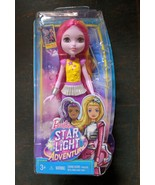 "Barbie Star Light Adventure Chelsea Doll Sprite Alien Pink Hair 6"" Tall MIB - $6.00"
