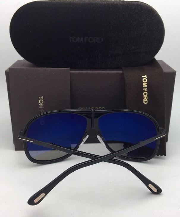 20da3d116c Polarized TOM FORD Sunglasses CHRIS TF 462 01D 62-10 140 Black-Gold w