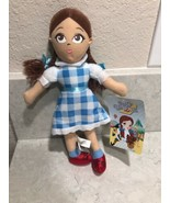 """THE WIZARD OF OZ DOROTHY 11"""" Plush Stuffed Doll Toy Factory 2012 A12 - $14.95"""