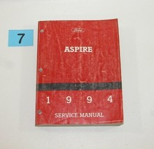 1994 Ford Aspire Factory Service Manual Well Used Condition 7 - $22.72