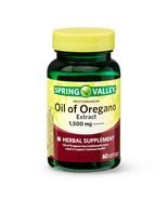 Spring Valley Mediterranean Oil of Oregano Extract Softgels, 1,500 mg, 6... - $17.99