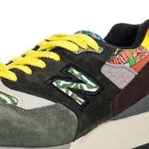 SNEAKERS UOMO NEW BALANCE LIFESTYLE 998 M998AWK MADE IN USA GREEN image 5