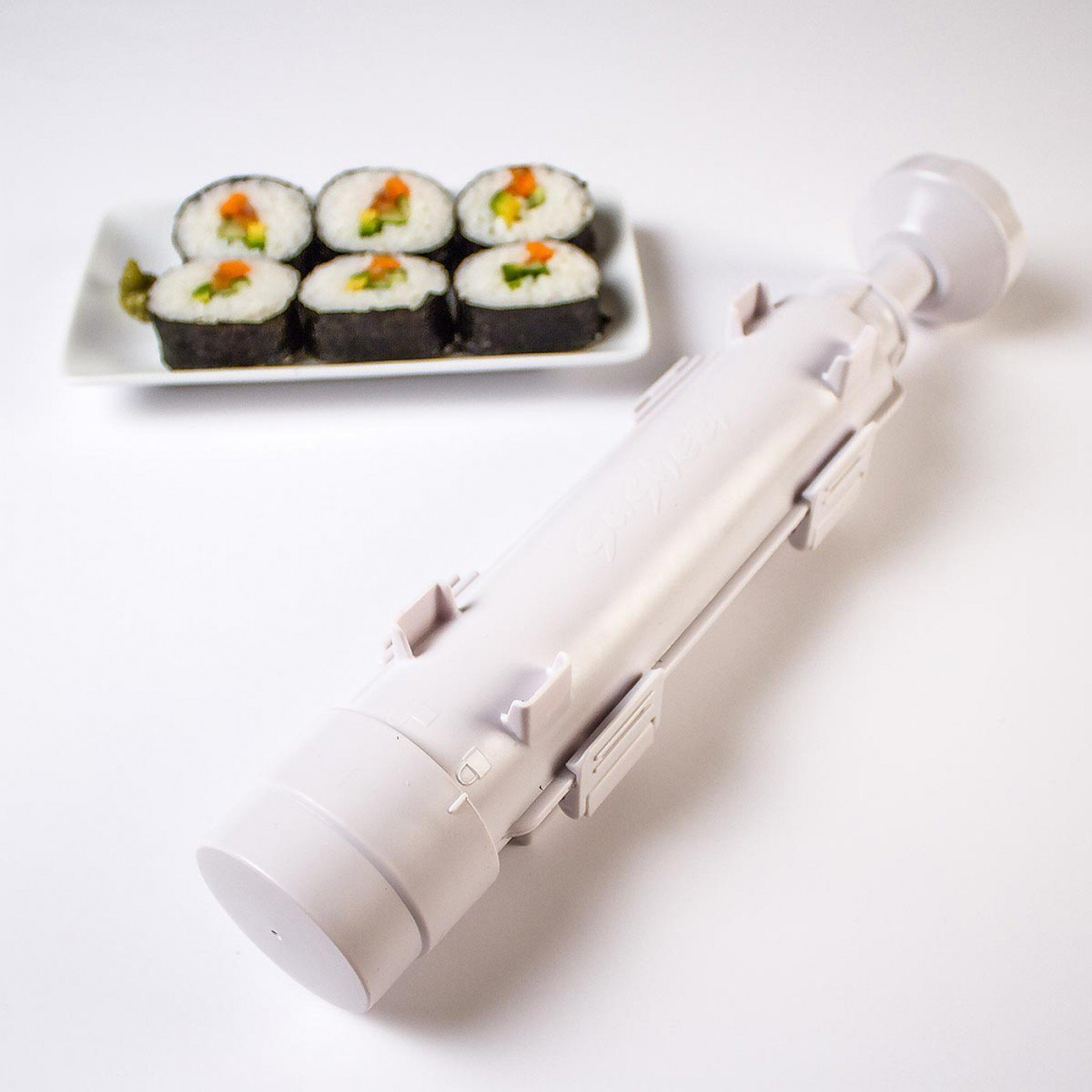 All In 1 Bazooka Roller Kit Sushi Rolls Maker Mold Making Tool Machine