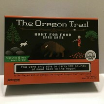 NEW Oregon Trail Hunt for Food Card Game - $9.85