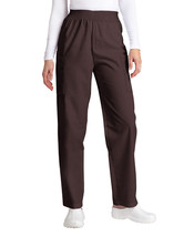 Scrub Pants Adar Brown Elastic Waist Cargo Uniform Nurse Ladies 503 M New - $19.37