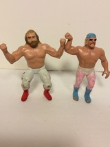 WWF LJN Wrestling Superstars Jesse The Body Ventura big John stud Vintag... - $22.21