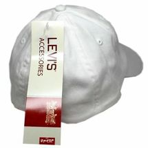 NEW LEVI'S RED TAB MEN'S PREMIUM CLASSIC COTTON BASEBALL HAT CAP ONE SIZE image 4