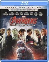 Marvel's Avengers: Age of Ultron [Blu-ray + Blu-ray 3D + Digital]