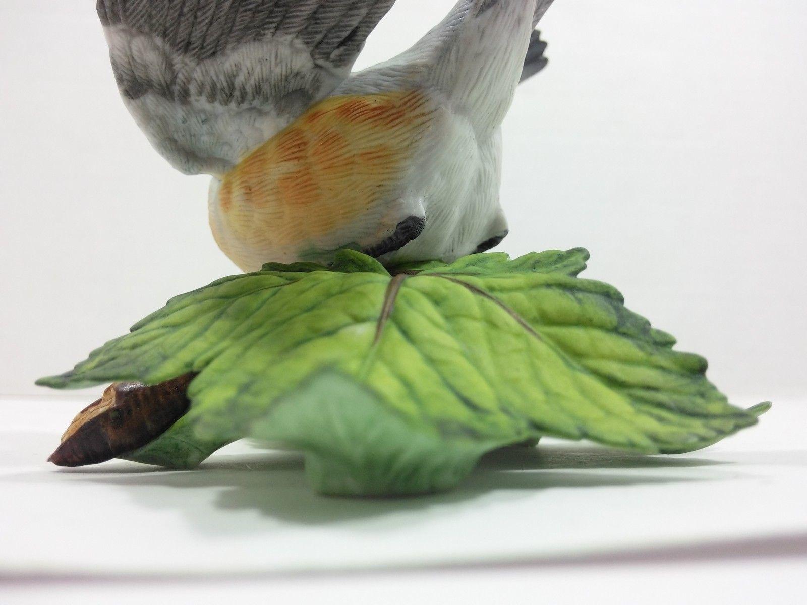 THE LENOX GARDEN BIRD COLLECTION Tufted Titmouse (Fine Porcelain 1986) image 11